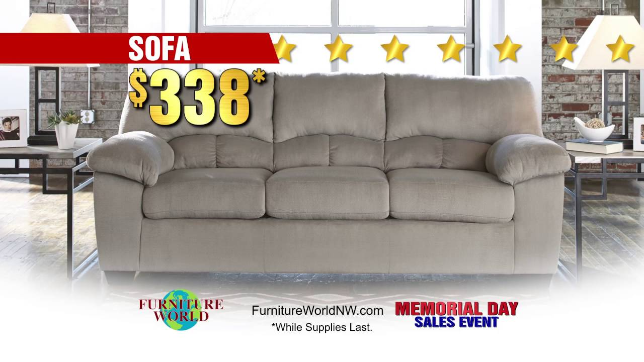 Furniture World NW Memorial Day