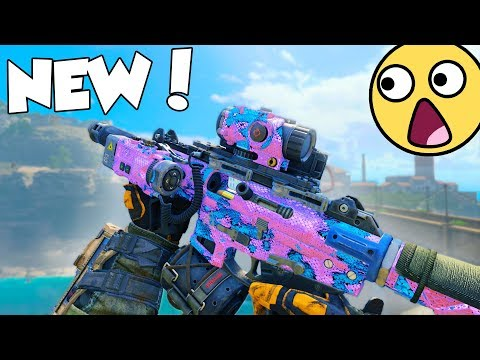 the NEW DLC SMG in BLACK OPS 4...😍