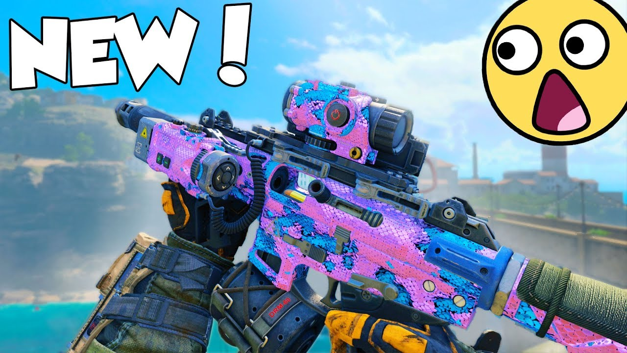 The New Dlc Smg In Black Ops 4 Youtube