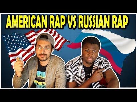 AMERICAN RAP VS RUSSIAN RAP | REACTION/РЕАКЦИЯ