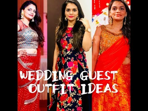 Indian Wedding Reception Shagan Guest Outfit Ideas Youtube