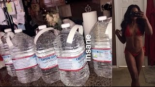 A GALLON OF WATER CHALLENGE! DOES IT WORK? | DAY 1