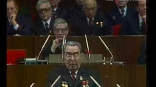 Brezhnev 1976 communist party congress Брежнев