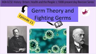 Episode 11 -Germ Theory and Fighting Germs//AQA GCSE History: Medicine Revision Series