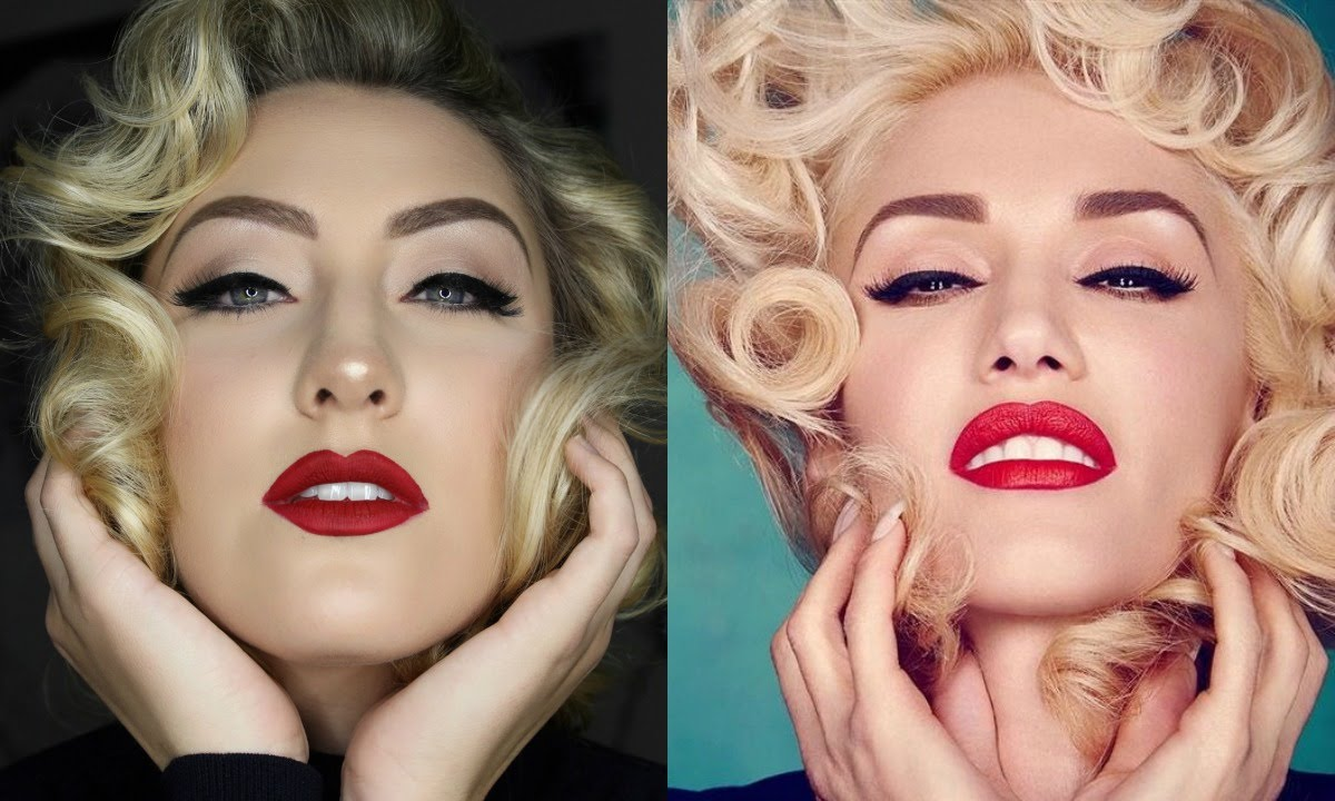 Gwen stefanimarilyn monroe makeup tutorial glamnanne youtube gwen stefanimarilyn monroe makeup tutorial glamnanne baditri Images