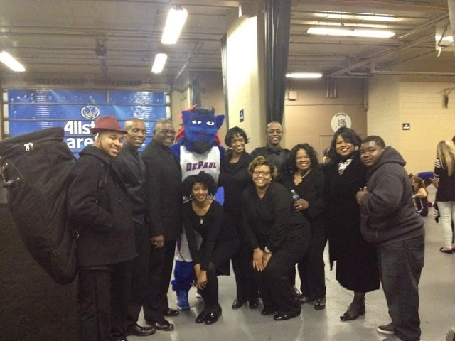 The National Anthem performance by Sylvia Fedrick Featuring Praise Force