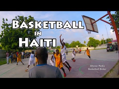 Basketball in Haiti - Watching BBall in Port-au-Prince and Leogane