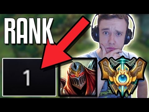 RANK 1 ZED COACHES REDMERCY TO GET MASTERS - ft LL Stylish  League of Legends