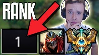 RANK 1 ZED COACHES REDMERCY TO GET MASTERS - ft. LL Stylish | League of Legends