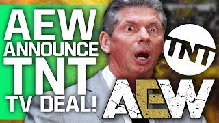 AEW Officially Announce Weekly TV Deal With TNT