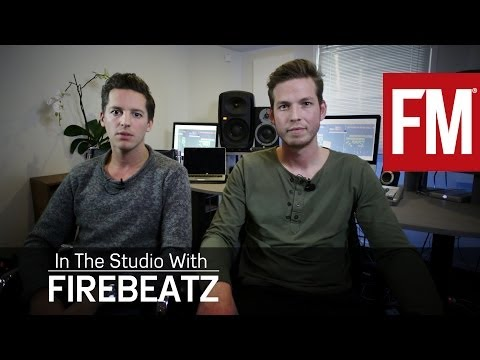 Firebeatz explaining Max Ammo In The Studio With Future Music