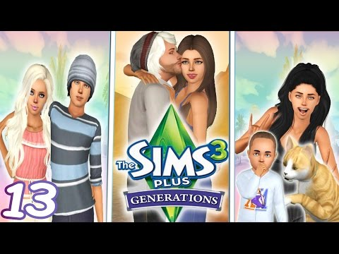 Let s play the sims 3 generations s2 part 13 twins birthday