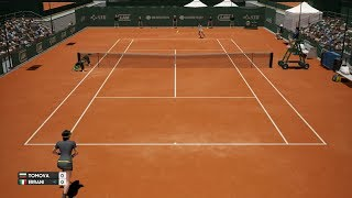 Viktoriya Tomova vs Sara Errani - AO International Tennis PS4 Gameplay