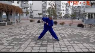 learning shaolin kung fu--- shaolin xiao hong quan form practice