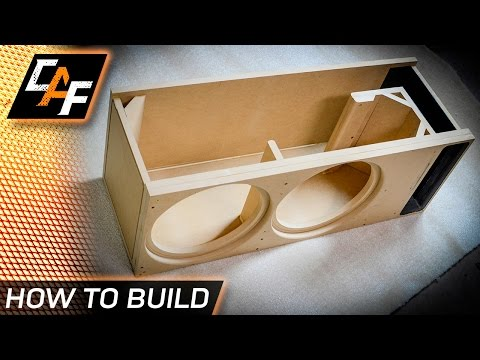 Build a BETTER subwoofer box - CUSTOM design for your exact subwoofer