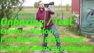 Test, Unboxing, Contec, Radon, Fun Works, Bike Hand, Fahrrad Montageständer