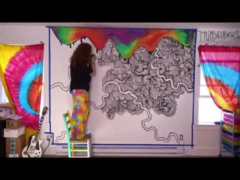 Trippy Wall Painting Ideas Tiktok Novocom Top