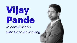 Coinbase Speaker Series: Vijay Pande of Andreessen Horowitz