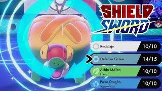 ¡APPLETUN CON RECICLAJE Y DEFENSA FÉRREA ES INMORTAL! COMBATE Pokémon Espada/Escudo