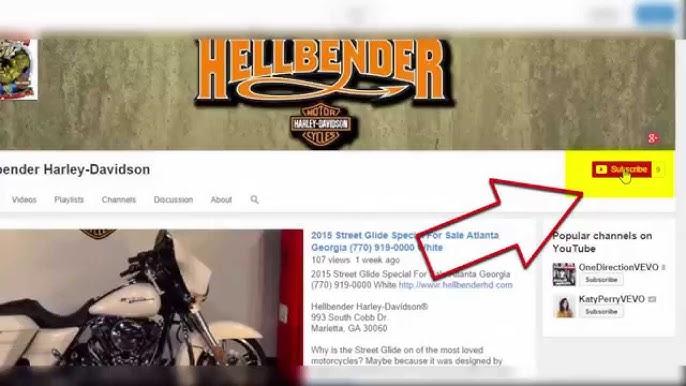 Hellbender Harley-Davidson - YouTube