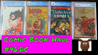 Comic Book Haul #46.DC: The one where Elk wished he was darn cool