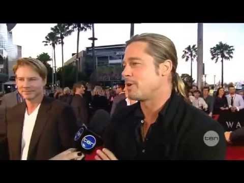 Brad Pitt Interview: World War Z Australia Premiere in Sydney