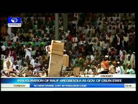 Inauguration Of Rauf Aregbesola As Governor Of Osun State Part 7