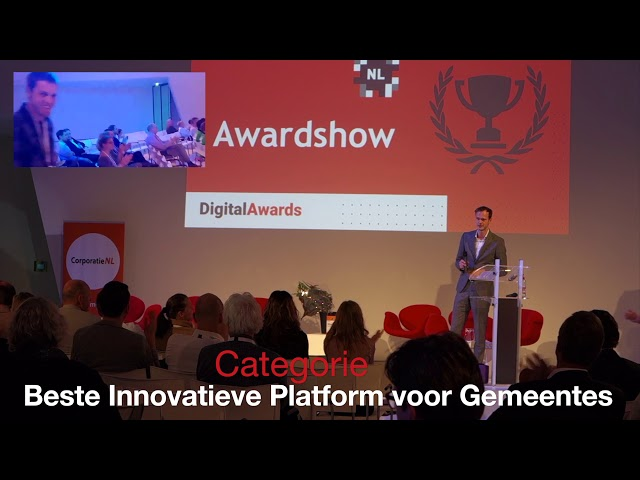Droom van Nederland - Beste Innovatieve Online Platform voor Steden - Digital Awards 2018