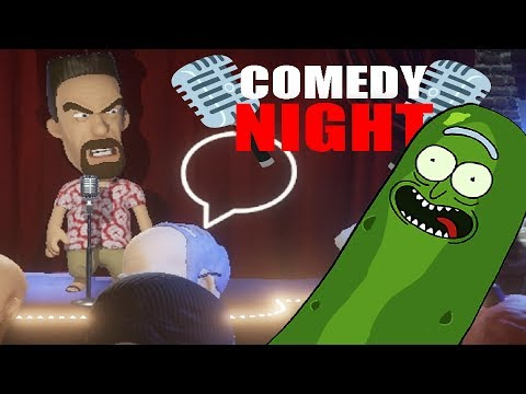 PICKLE RICK RANT (A VERY Angry Player & Spongebob Singalong!) - Comedy Night Funny Moments