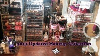 Prettyprchick.com| 2013 Updated Makeup Collection, Organization & Storage