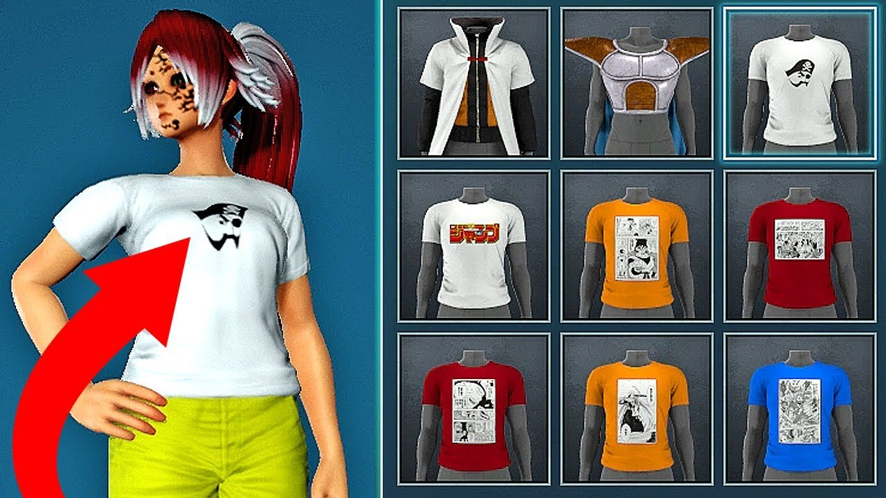 jump force ultimate edition t shirts