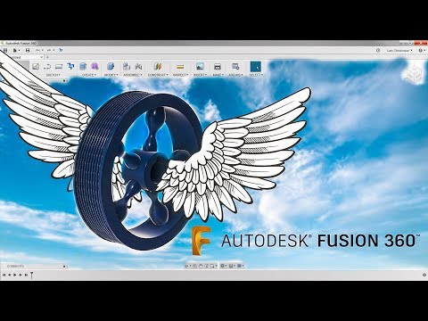 How To Model a 5 Spoke Fly Wheel — Fusion 360 Tutorial #Lars