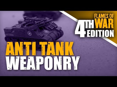 Flames of War 4th Ed: Playing With Anti Tank Weaponry
