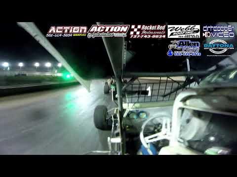 Daniel Peeples Go Pro Camera, Top Gun Sprints, Volusia Speedway Park, 4/27/19