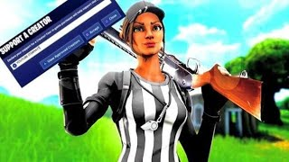 PS4 Fortnite Live! - Code: YOUTUBE-ITSWYATT - Switching to Claw - Console Tfue?!