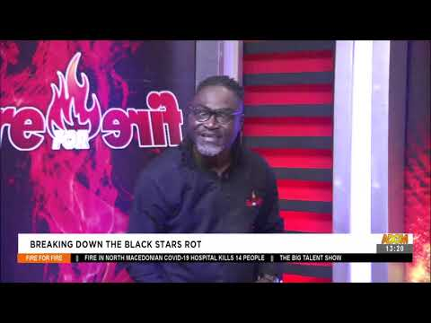 Breaking Down The Black Stars Rot: One on One with Hon. Titus Glover -Fire 4 Fire on AdomTV (10-9-21