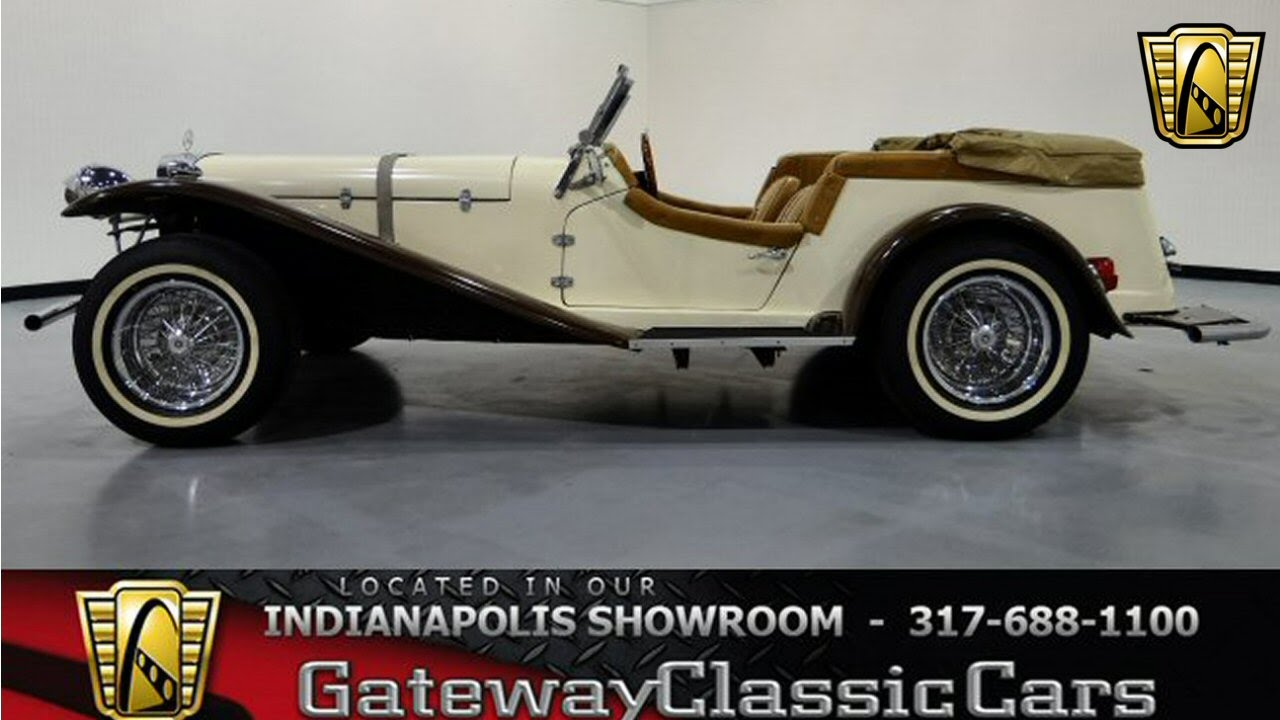 1927 Mercedes Gazelle Replica - Gateway Classic Cars Indianapolis ...