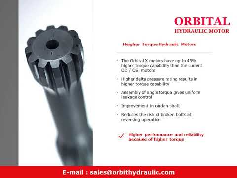 ORBITAL X Hydraulic Motor Manufacturers OHPX OHRX in India