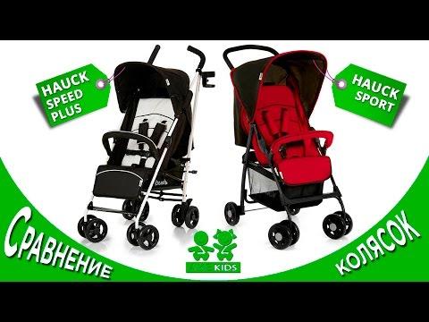 Сравнение колясок Hauck Speed Plus и Hauck Sport