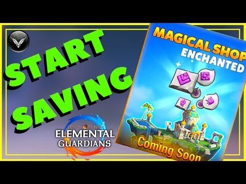 [MMEG] SHOP GLYPH EVENT Might And Magic Elemental Guardians