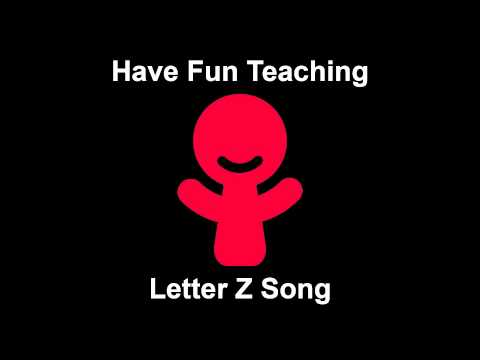 Letter Z Song  Audio