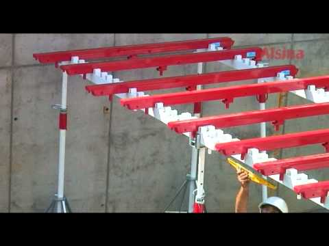 Mecanoflex: Flexible Slabs Formwork System