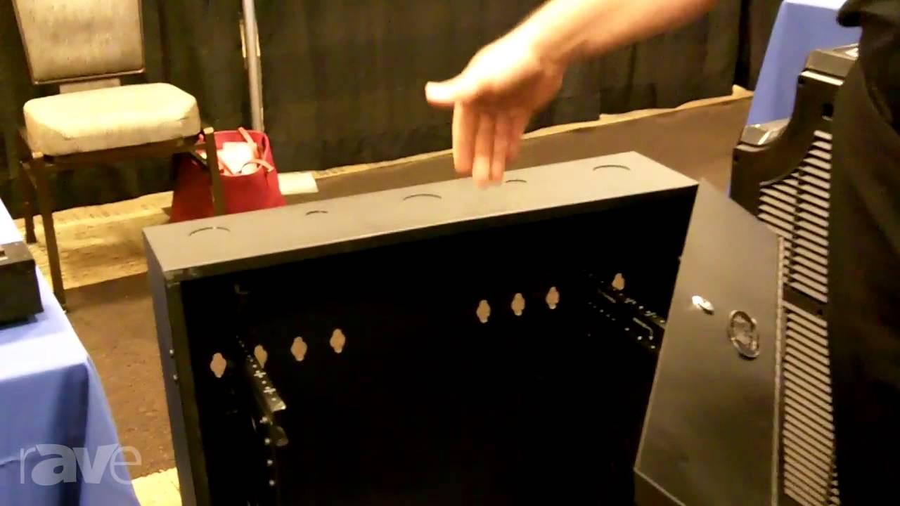e4 av tour tripp lite demos its srwf5u smartrack 5u low profile wall mount rack enclosure cabinet