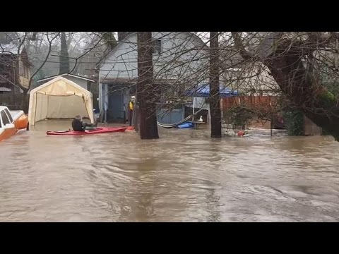New California storm brings flooding, mudslides