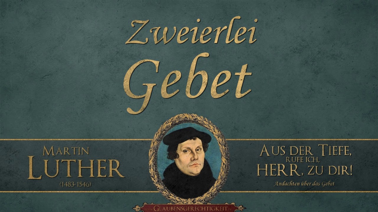 Luther Gebet