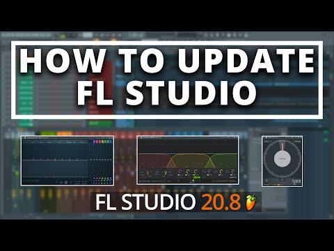 How To Update FL Studio   FL Studio 20.8