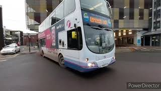 Buses at Rotherham Interchange…