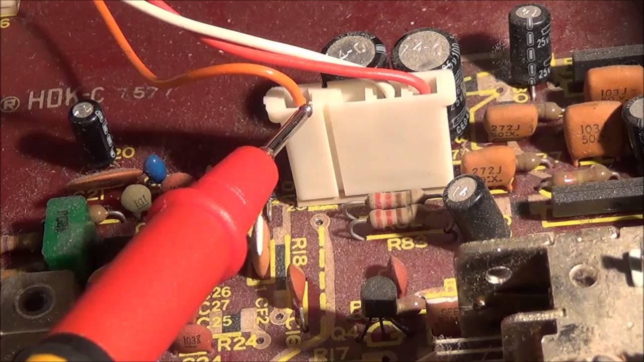 kenwood kr 4070 vintage stereo receiver repair [ 1280 x 720 Pixel ]