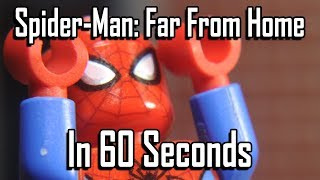 Spider-Man: Far From Home in 60 Seconds