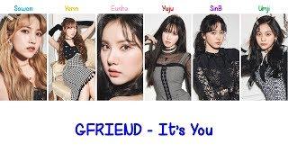 Gambar cover It's You (겨울, 끝) | GFRIEND Lyrics [ENG+ROM]